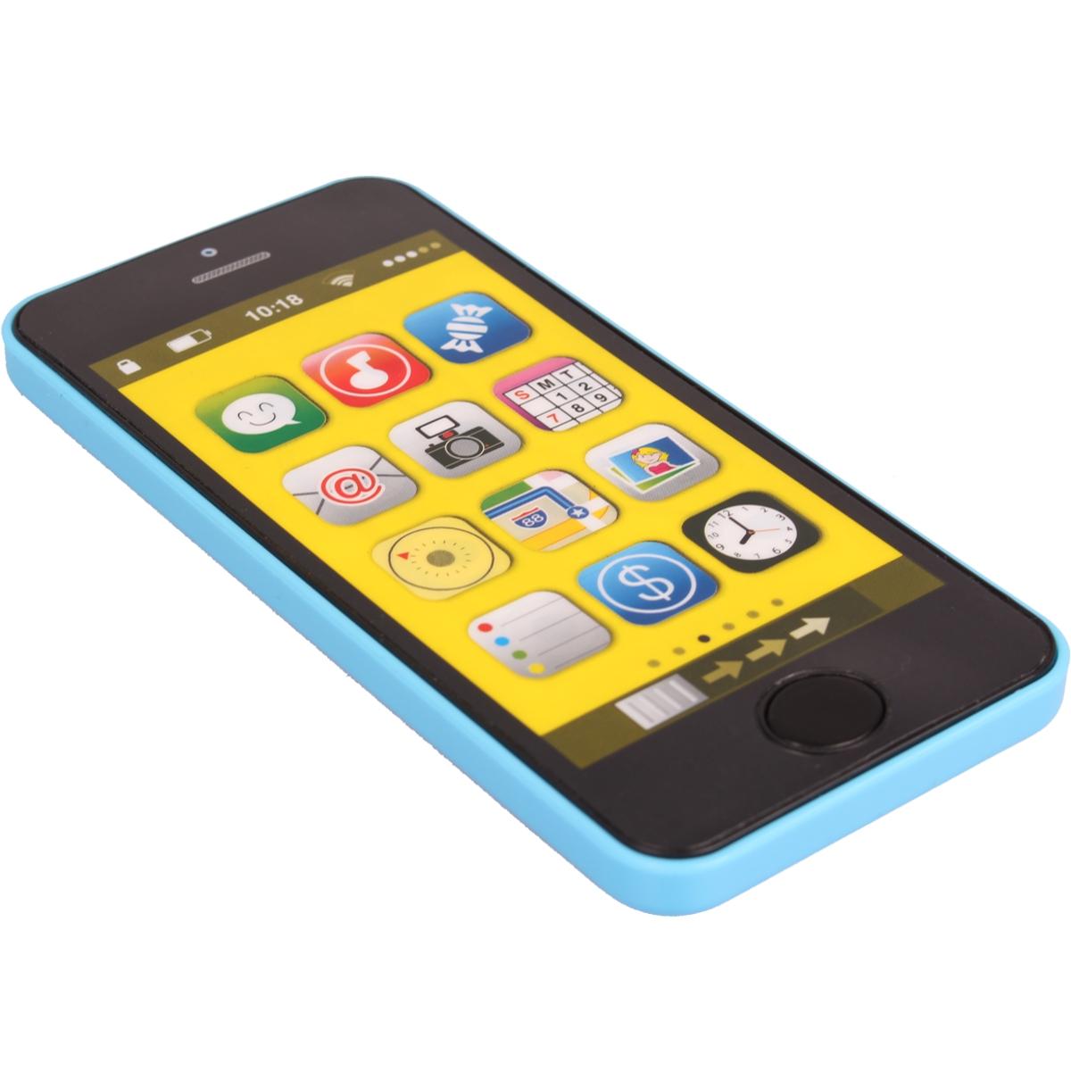 spielzeug handy smartphone licht sound kinder lern motorik spielzeug telefon ebay. Black Bedroom Furniture Sets. Home Design Ideas