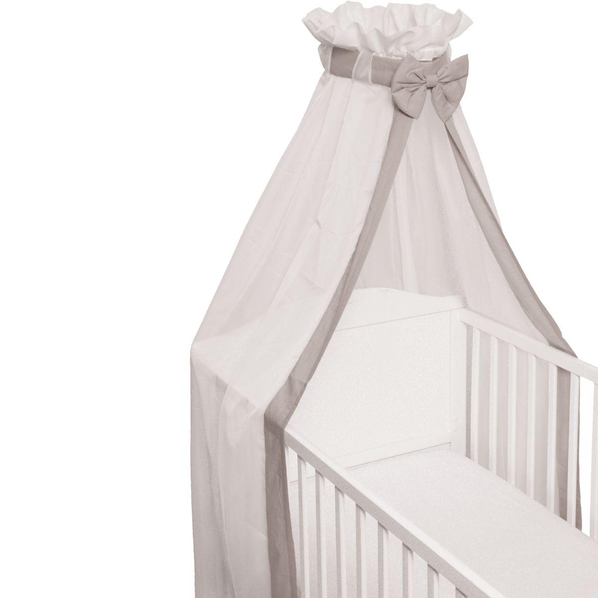 babybett schleier betthimmel moskitonetz baldachin baby. Black Bedroom Furniture Sets. Home Design Ideas