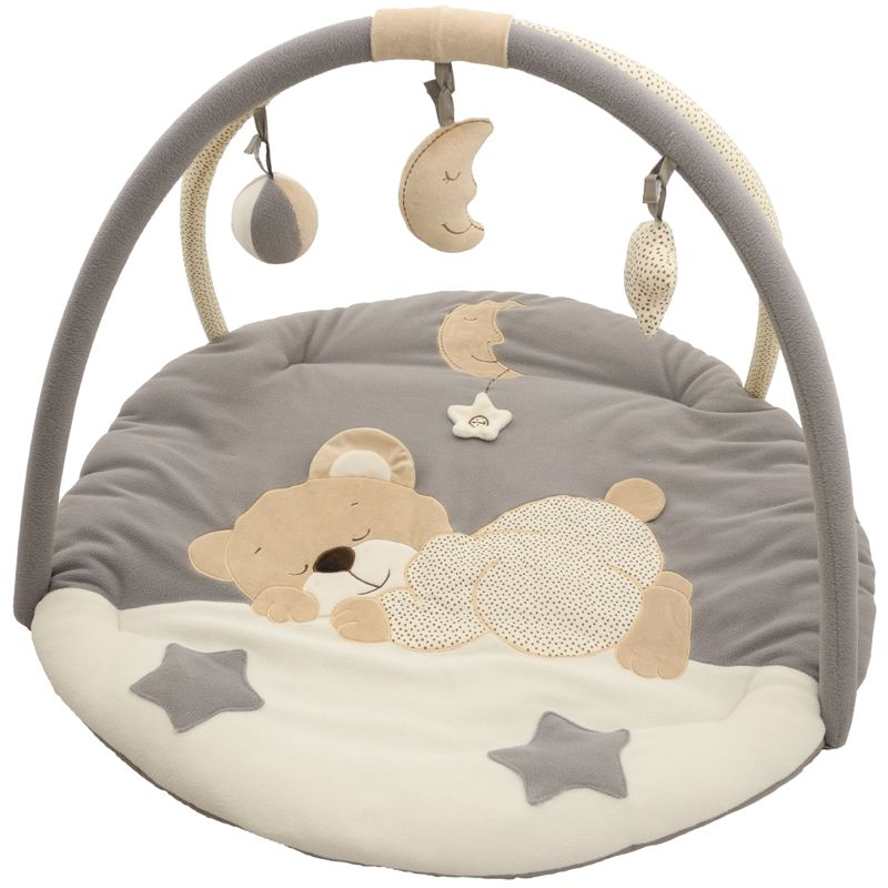 krabbeldecke erlebnisdecke spieldecke babydecke decke spielbogen gym 90cm ebay. Black Bedroom Furniture Sets. Home Design Ideas