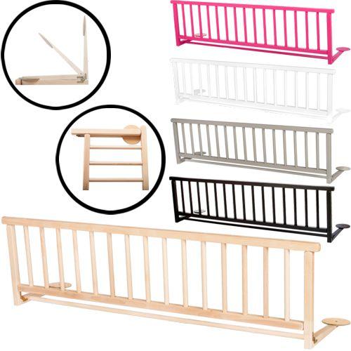 bettschutzgitter massivholz 127cm kinder bett gitter schutzgitter kinderbett ebay. Black Bedroom Furniture Sets. Home Design Ideas
