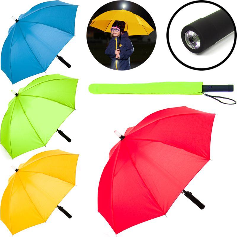 Sturm Taschenschirm Regenschirm Schirm sturmsicher 80km//h Fiberglas groß blau